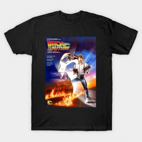 Chuck Norris to the Future! T-Shirt