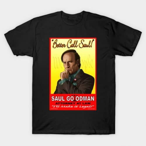 Better Call Saul Attorney T-Shirt