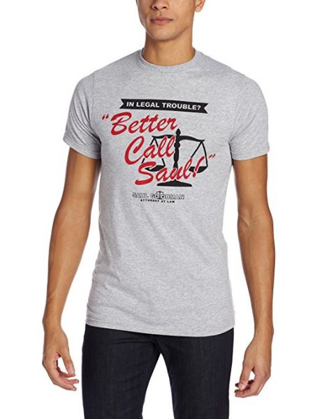 Better Call Saul Lawfirm Logo T-Shirt