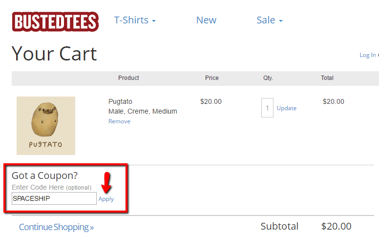 busted tees coupon code guide