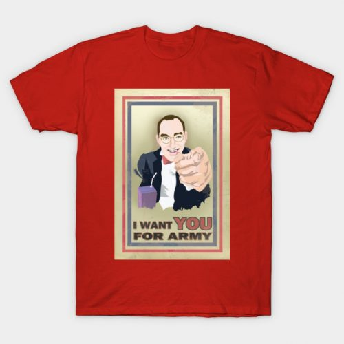Buster Bluth – I Want You for Army T-Shirt