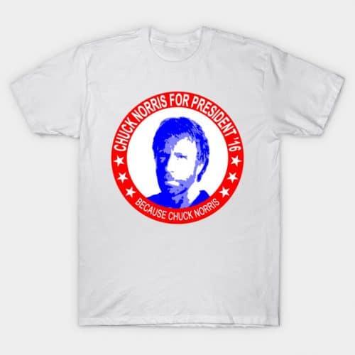 Chuck Norris For President T-Shirt