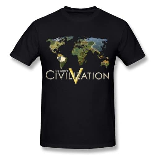 Sid Meiers Civilization V Game T Shirt
