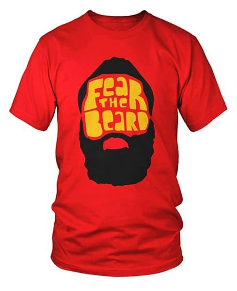 James Harden Fear the Beard Houston Rockets T-Shirt