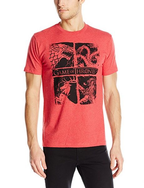 Game of Thrones Four Houses T-Shirt