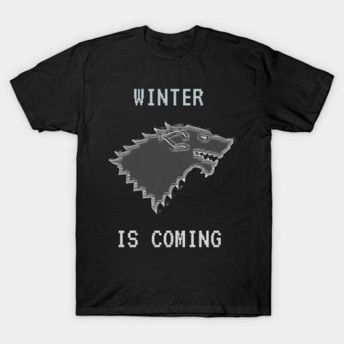 Throne Games – 8-Bit Wolf T-Shirt