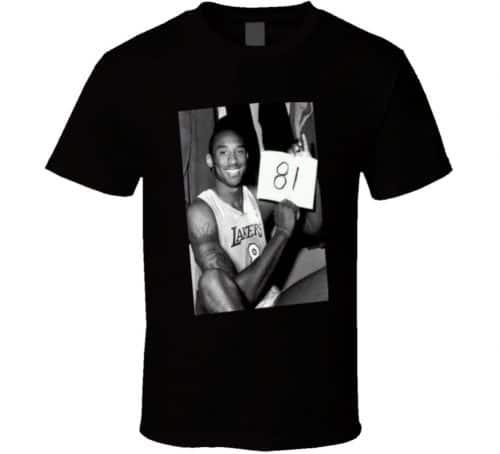 Kobe Bryant 81 Point Game T-Shirt