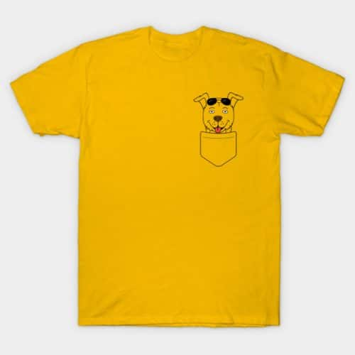 Mr. Peanut Butter Pocket T-Shirt