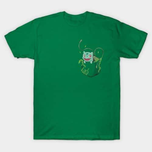 Pocket Bulbasaur Shirt