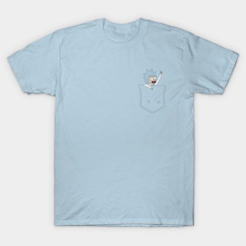 Tiny Rick Pocket buddy! T-Shirt