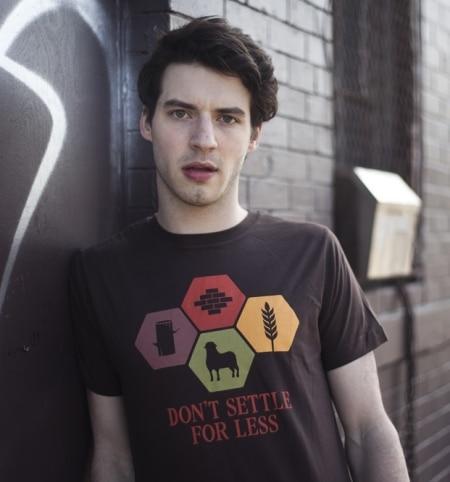 Don't Settle For Less Catan T-Shirt