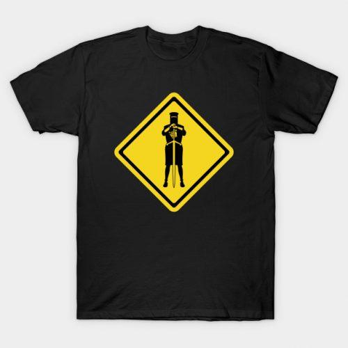 Black Knight Sign Monty Python T-Shirt