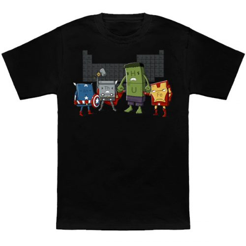 Avengers Periodic Table T-Shirt