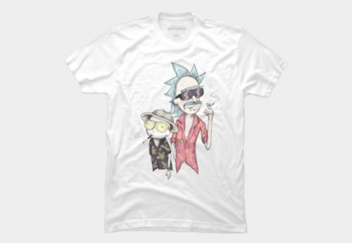 Fear & Loathing in Schwift Vegas Rick and Morty Shirt