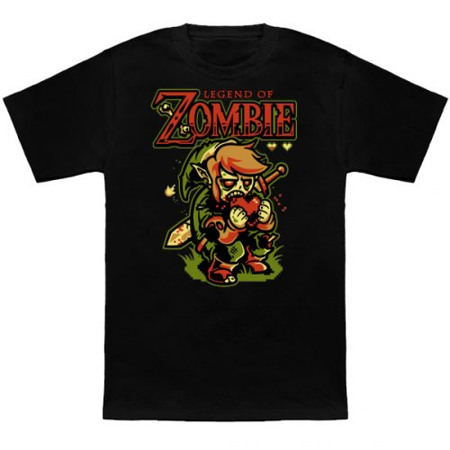 Legend of Zombies Zelda T-Shirt