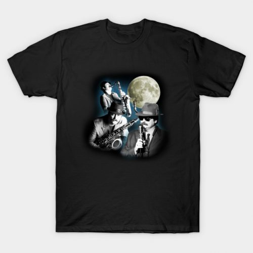 Three Duke Silver Moon T-Shirt